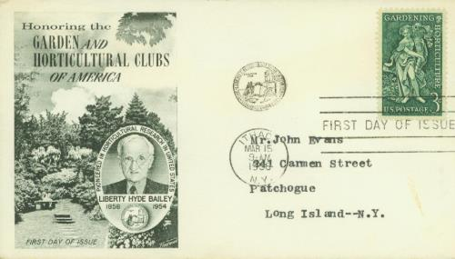 Gardening & Horticulture Fleetwood First Day Cover