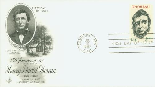 1967 Thoreau Classic First Day Cover