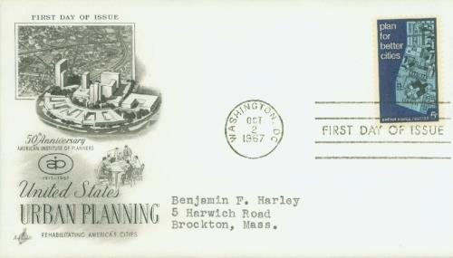 Urban Planning Classic First Day Cover