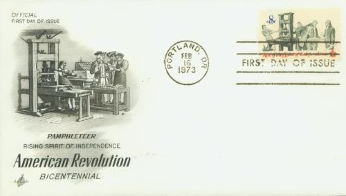 Pamphlet Printing Classic First Day Cover