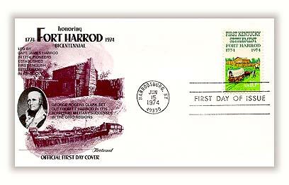 1974 Kentucky Settlement Fleetwood First Day Cover