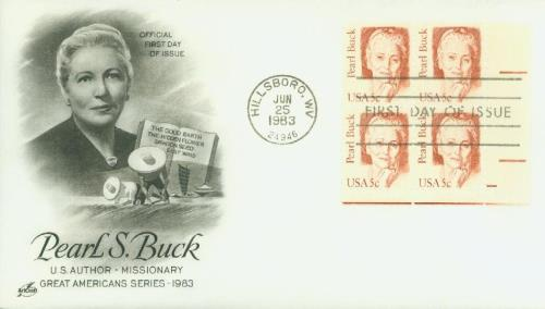 1983 Buck Classic First Day Cover