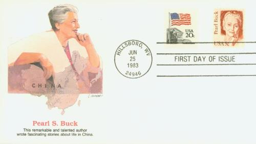1983 Buck Fleetwood First Day Cover