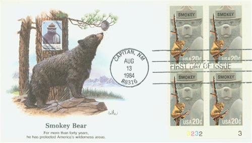 1984 Smokey Fleetwood First Day Cover
