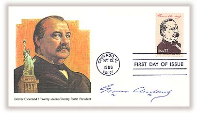 1986 Cleveland First Day Cover