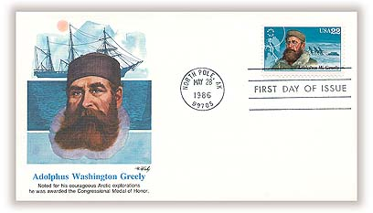 Greely Fleetwood First Day Cover