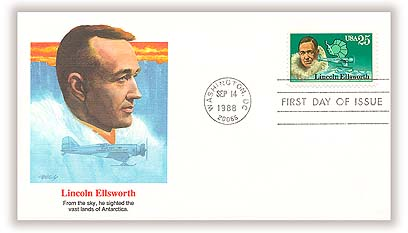 1988 Ellsworth Fleetwood First Day Cover