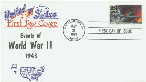 1992 Ploesti Raid Classic First Day Cover