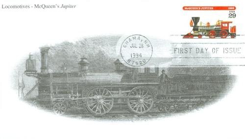 1994 Jupiter Mystic First Day Cover