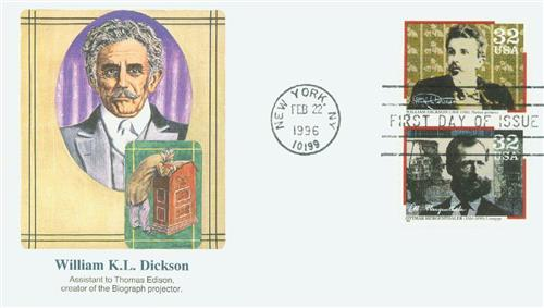 1996 Dickson Fleetwood First Day Cover