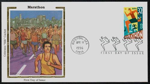 Marathon Colorano Silk Cachet First Day Cover