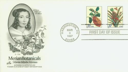 Merian Classic First Day Cover