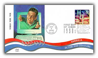 2000 World Wide Web Fleetwood First Day Cover