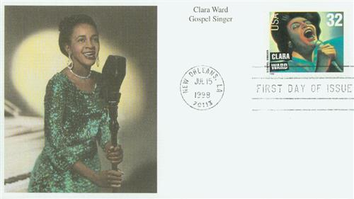 Ward Mystic First Day Cover.