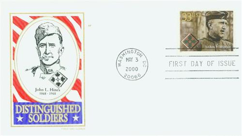 John L. Hines Classic First Day Cover