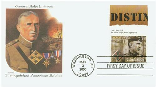 John L. Hines Fleetwood First Day Cover