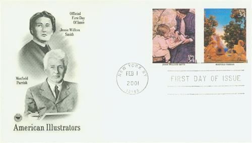 Parrish Classic First Day Cover.