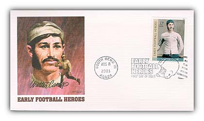 Walter Camp Fleetwood First Day Cover