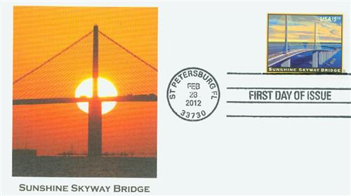 Sunshine Skyway Fleetwood First Day Cover
