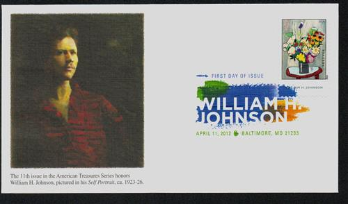 Johnson Fleetwood First Day Cover with Digital Color Postmark