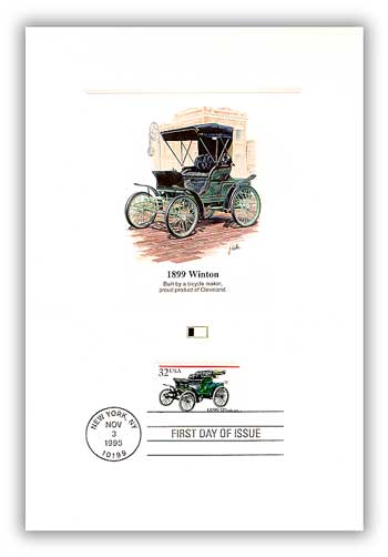 1995 Winton First Day Proof Card