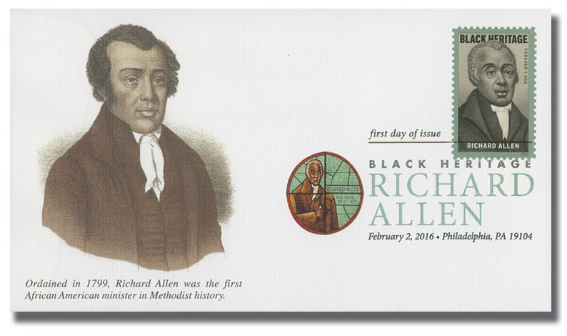 Richard Allen First Day Cover