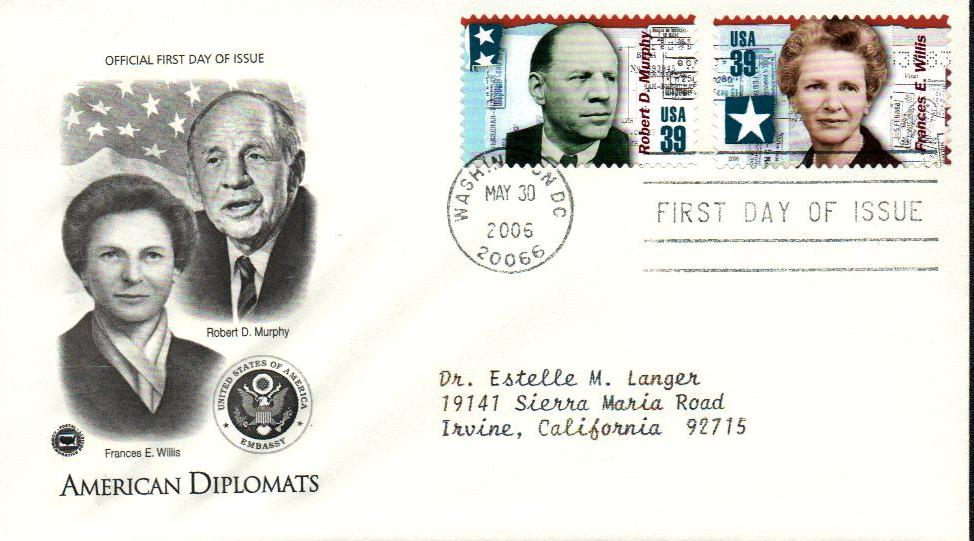 Frances Willis Classic First Day Cover