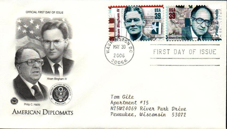 Habib Classic First Day Cover