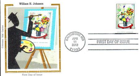 Johnson Colorano Silk Cachet First Day Cover