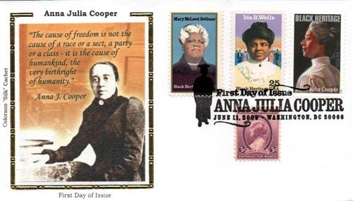 2009 Cooper Colorano Silk Cachet Combination First Day Cover