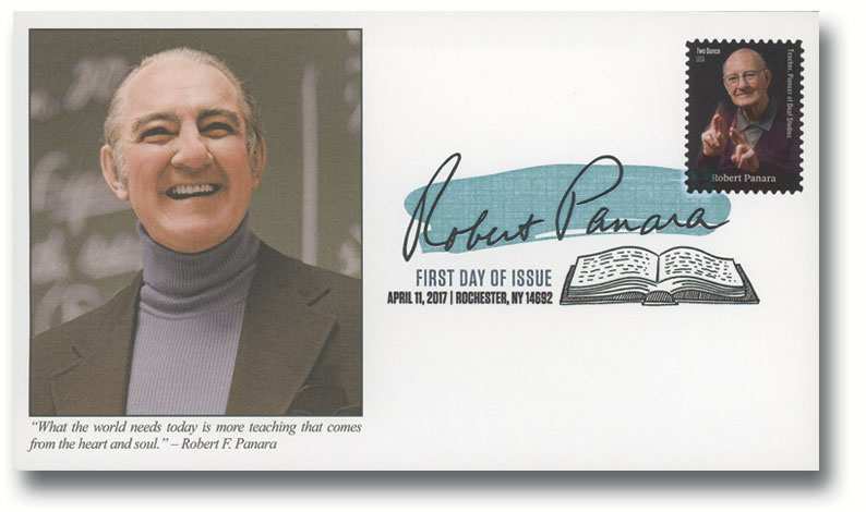 2017 Robert Panara Fleetwood First Day Cover with Digital Color Postmark