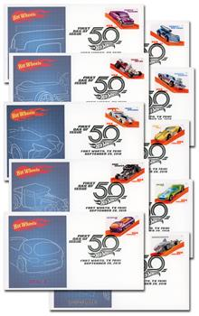 2018 Hot Wheels Fleetwood First Day Covers