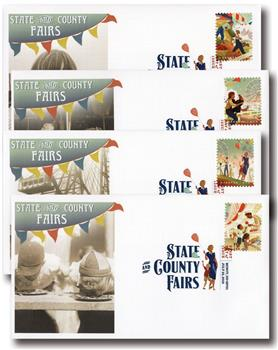 2019 State and County Fairs Fleetwood First Day Covers with Digital Color Postmark