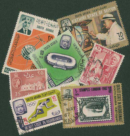 Aden and States 50v