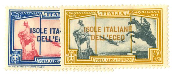 1932 Aegean Islands