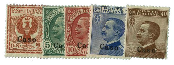 1912 Aegean Islands - Caso