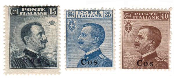 1912 Aegean Islands - Coo
