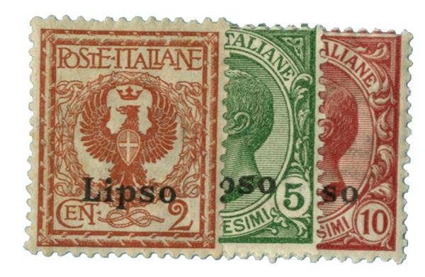 1912 Aegean Islands - Lisso