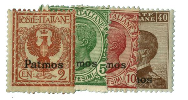 1912 Aegean Islands - Patmo