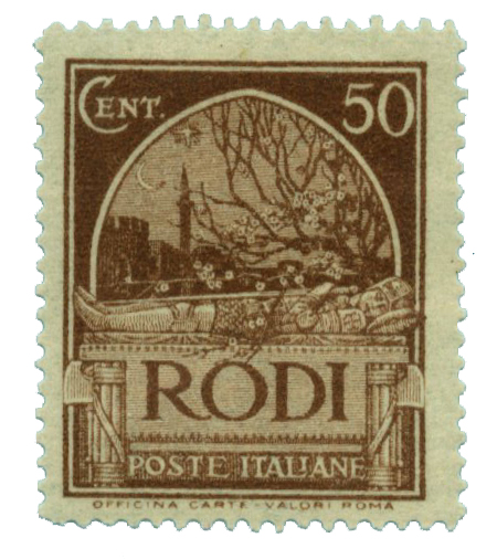 1932 Aegean Islands - Rhodes