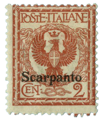 1912 Aegean Islands - Scarpanto