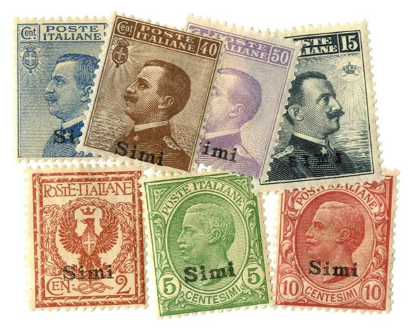 1912 Aegean Islands - Simi