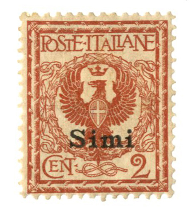 1912 Aegean Islands - Simi