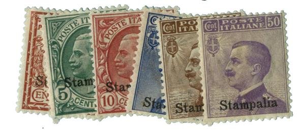 1912 Aegean Islands - Stampalia