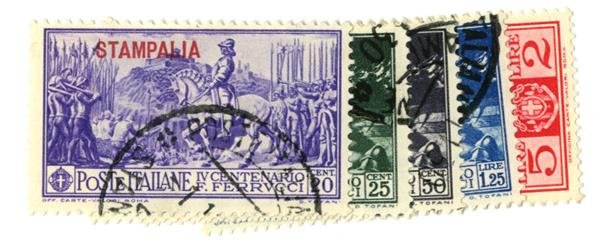 1930 Aegean Islands - Stampalia