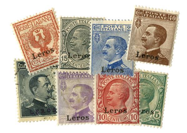 1912-22 Aegean islands - Lero