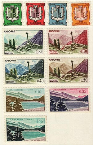 1961 Andorra, French