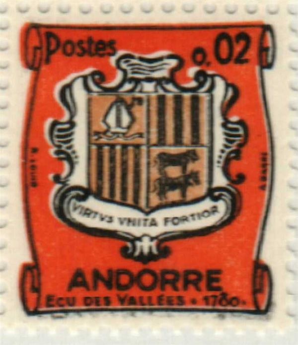 1964 Andorra, French