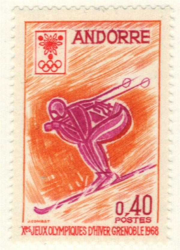 1968 Andorra, French
