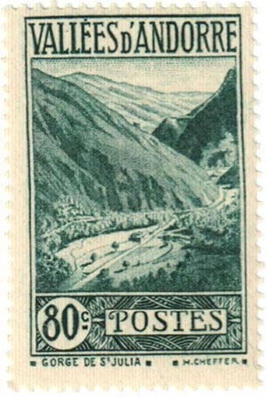 1940 Andorra, French